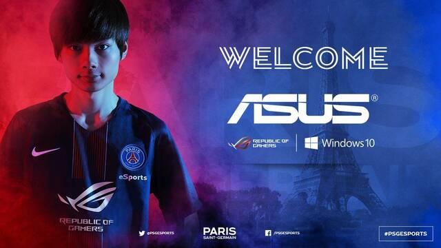 El PSG eSports anuncia que ASUS ROG es su nuevo patrocinador