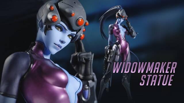 Blizzard pone a la venta una increíble figura de Widowmaker que costará 150 dólares