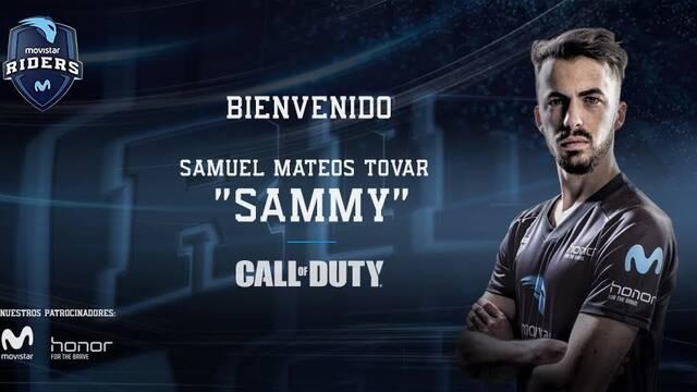 "Movistar Riders incorpora a ""Sammy"" a su equipo de Call of Duty hasta final de temporada"