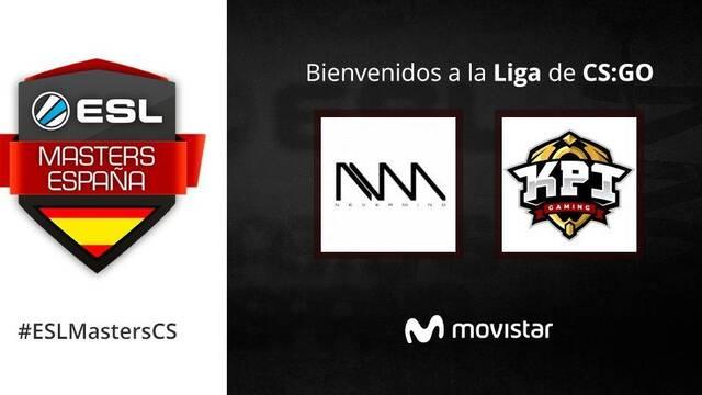 Nevermind y KPI, los primeros clasificados para la ESL Masters España de CS:GO