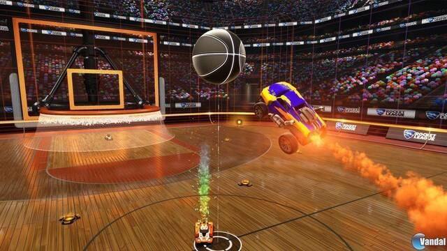La variante de baloncesto para Rocket League llegará el 26 de abril