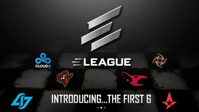 ELEAGUE anuncia más equipos para su primera temporada