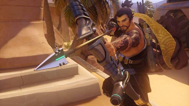 Blizzard está preparando tres nuevas skins legendarias para Hanzo