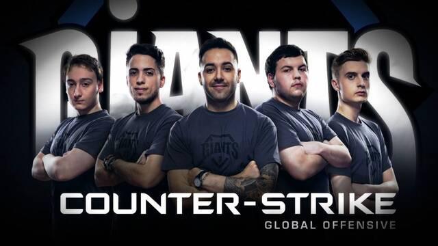 Giants hace oficial su retorno al Counter-Strike con la contratación del equipo de Team eu4ia