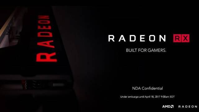 AMD anuncia los cuatro modelos iniciales de sus nuevas gráficas Radeon RX 500
