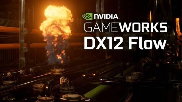 NVIDIA muestra su impresionante tecnología para mover fluidos en tiempo real en DirectX 12