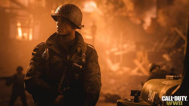 Call of Duty: WWII estrena su primer tráiler