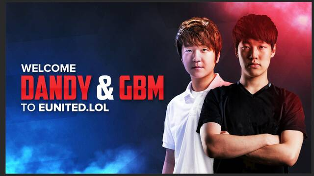 DanDy y GBM fichan por el equipo de League of Legends de eUnited