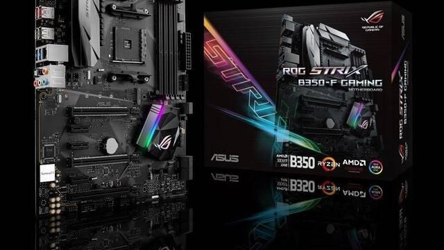 ROG Strix B350-F Gaming, la nueva placa base de ASUS para procesadores AMD Ryzen