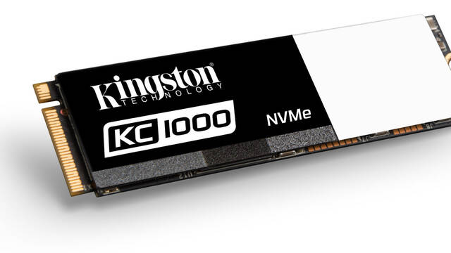 Kingston presenta el nuevo SSD KC1000 NVMe PCIe