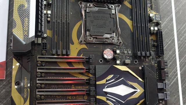 Primera imagen y características de la placa base BIOSTAR X299GT9 Racing