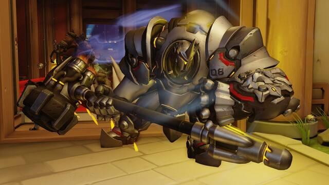 Blizzard investiga una reducción accidental en el DPS de Reinhardt en Overwatch