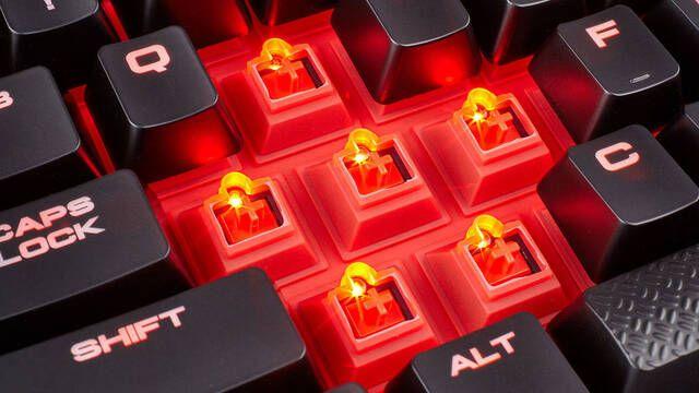 Presentado el Corsair K68, lo último en teclados mecánicos gaming