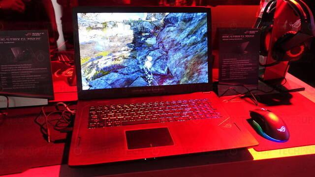 ASUS presenta el ROG STRIX GL702ZC, el primer portátil con procesador AMD Ryzen