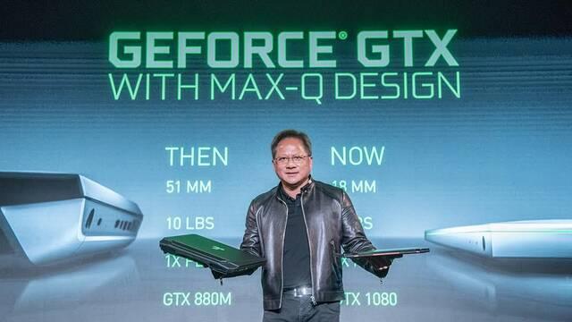 NVIDIA presenta MAX-Q, su diseño para tener portátiles tres veces más finos y más potentes