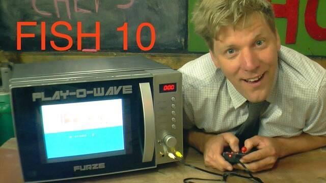 Pay-O-Wave, el microondas que te permite jugar a videojuegos