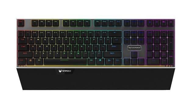 VPRO V720S ya disponible, lo último en teclados gaming de Rapoo