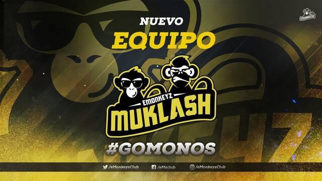 Emonkeyz anuncia su unión con el famoso equipo Muklash de Clash Royale