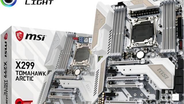 X299 TOMAHAWK ARCTIC, la nueva placa de MSI pensada para el segmento gaming