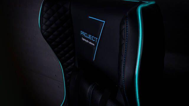 Aerocool presenta la Silla Gaming Project 7 con iluminación led
