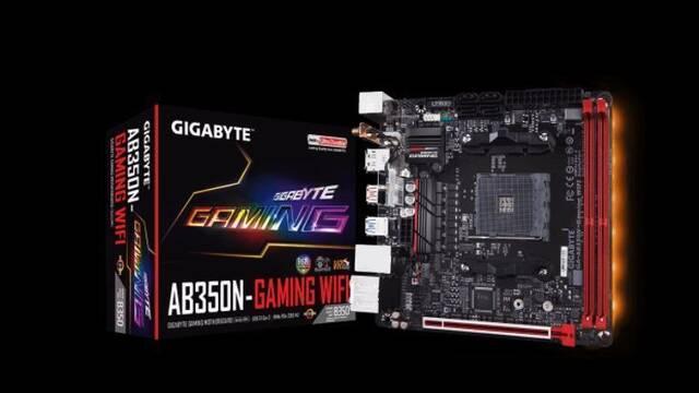 GIGABYTE AB350N-Gaming WiFi, la primera placa base mini-ITX para Ryzen