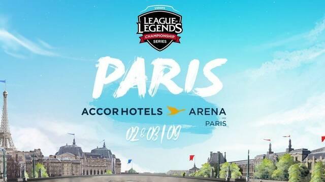 La final del Summer Split de la LCS EU 2017 será en Paris
