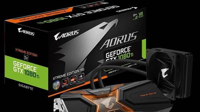 Gigabyte lanza dos nuevas tarjetas gráficas GTX 1080 Ti bajo su filial AORUS