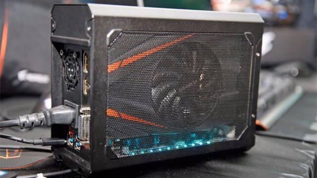 Aorus presenta la GTX 1070 Gaming Box, ideal para ordenadores portátiles