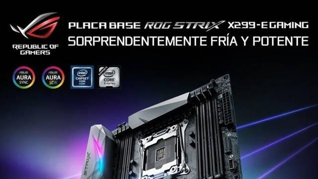 Asus presenta sus placas base para el chipset Intel X299
