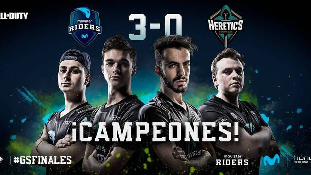 Movistar Riders vence en el Game Stadium de Call of Duty