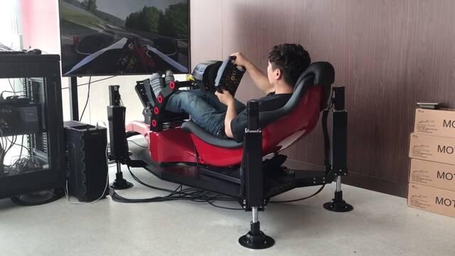La cabina de juego más increíble para los aficionados a los simuladores de conducción