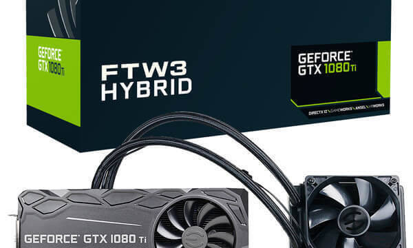 EVGA lanza la GeForce GTX 1080 Ti FTW3 HYBRID para los jugadores más exigentes