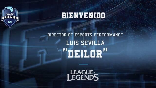 Deilor, el ex entrenador de Fnatic, pasa a formar parte de Movistar Riders