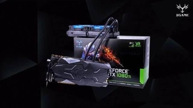 Esto lo último de Colorful, iGame GeForce GTX 1080 Ti Neptune W