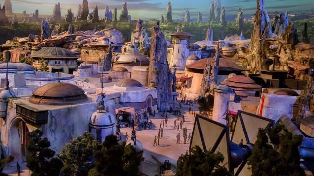 Disney muestra las primeras imágenes de Star Wars Land