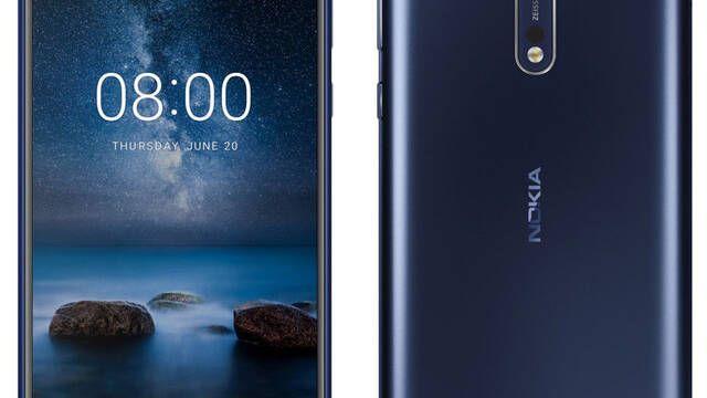 Se filtra el Nokia 8 con lector de huellas frontal y acabado en aluminio