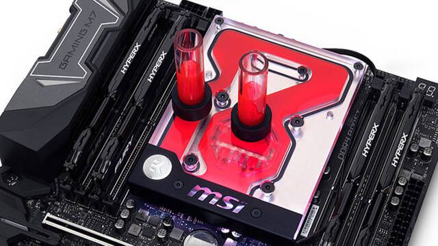 EKWB lanza un bloque RGB diseñado para las placas base MSI X299 GAMING