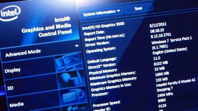 Intel lanza la actualización 15.46 de sus controladores para las GPUs