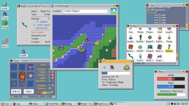 Kingsway, un sistema operativo que en realidad es un juego de rol