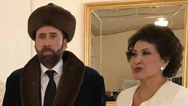 La foto de Nicolas Cage en Kazajistán da la vuelta al mundo