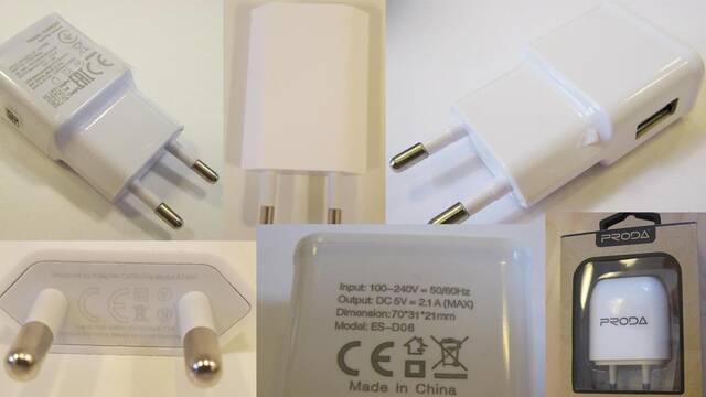 Cuidado con estos cargadores USB, pueden ser peligrosos