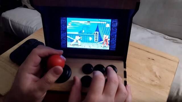 Construye una cabina arcade para jugar a su Nintendo Switch
