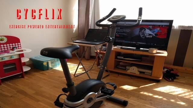 Cyclix: ponte en forma mientras ves Netflix o se pausa