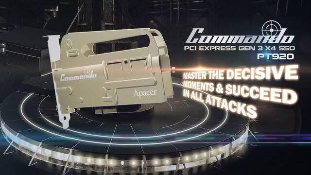 Apacer PT920 Commando, el disco duro SSD con forma de rifle M4A1