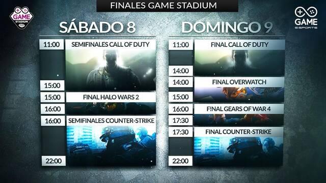 Sigue en directo las finales Game Stadium de CS:GO y Call of Duty