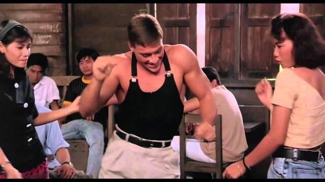 Van Damme y Steven Seagal casi se pegaron en casa de Stallone