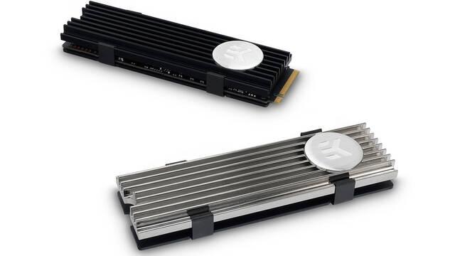 El disipador de calor del nuevo SSD de formato M.2 de EKWB