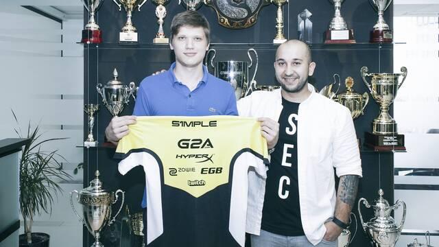 S1mple, nuevo jugador del equipo de CS:GO de Na'Vi
