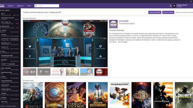 Ya está aquí la app de escritorio de Twitch