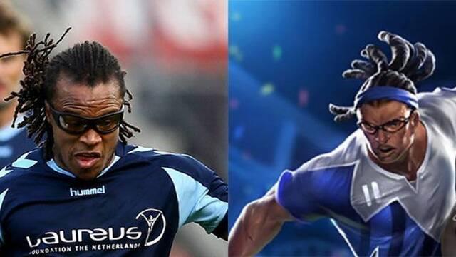 El ex futbolista Davids se llevará todas las ganancias de un skin de Lucian